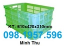 Tp. Hà Nội: thùng nhựa, khay nhựa, rổ nhựa giá rẻ CL1661820