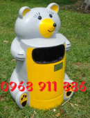 Tp. Hồ Chí Minh: Thùng rác hình con vật, thùng rác hình cá heo, thùng rác con gấu, thùng rác rẻ CL1661754