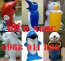 Tp. Hồ Chí Minh: Sản xuất thùng rác hình con thú, thùng rác cá heo, thùng rác gấu trúc CL1661754
