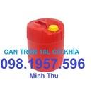 Tp. Hà Nội: can nhựa, can nhựa đựng chất lỏng, đựng hóa chất, can nhựa 30 lít CL1667440P6