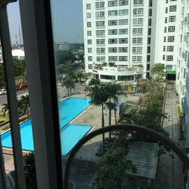 Cho thuê căn hộ chung cư Hoàng Anh An Tiến, 101 m2, 2PN, giá 8Tr/ tháng