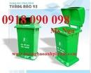 Bình Dương: thanh lý thùng rác nhựa 120 lít, 240 lít, thùng rác composite, thùng rác con thú CL1663910P4