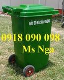 Bình Dương: thanh lý thùng rác chim cánh cụt, thùng rác cá heo, thùng rác 120 lít, 240 lít CL1663910P4