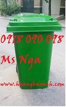 Bình Dương: thung rac nhua, thung rac composite, thùng rác 120 lit, 240 lit, 660 lit giá rẻ CL1663426