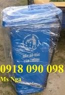 Bình Thuận: bán thùng rac nhựa 120 lít, thùng rác 120 lít, thung rac chim canh cut, thùng rác CL1663910P3