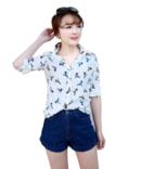 Tp. Hồ Chí Minh: Áo sơ mi công sở nữ phong cách hiện đại trẻ trung thời trang Urban Horizon CL1674598