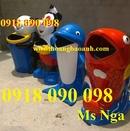 Tp. Cần Thơ: thùng rác hình con thú, thùng rác cá chép, thùng rác cá heo , thùng rác con gấu CL1663907