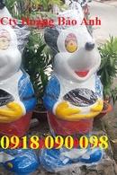 Bình Phước: thùng rác hình con vật ,thùng rác composite hình chim cánh cụt, cá heo , con gấu CL1663907