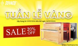 TUẦN Lễ Vàng - Giảm Giá Đàn Piano