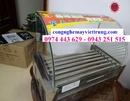 Tp. Hà Nội: Máy nướng xúc xích, bếp nướng xúc xích 7 thanh nhiệt kính cong CL1664469