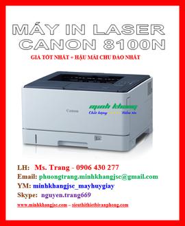 Máy in laser Canon LBP 8100N giao hàng lắp đặt miễn phí giá tốt nhất