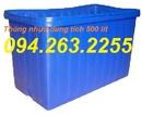 Tp. Hà Nội: thùng nhựa, khay nhựa, sóng nhựa, rổ nhựa vuông, thùng nhựa kín , CL1665259