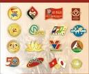 Tp. Hồ Chí Minh: Sản xuất huy hiệu cài áo - Huy hiệu đồng, bạc, nhôm, inox, mika CL1659438