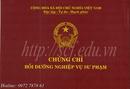 Tp. Hải Phòng: Tuyển sinh khóa nghiệp vụ sư phạm giáo viên TCCN - 0972787861 CL1663354