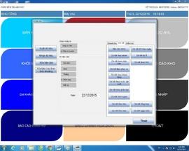 Bán phần mềm tính tiền + máy in bill + máy quét mã vạch tại Bình Tân