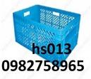 Tp. Hà Nội: Thùng nhựa đan, rổ nhựa đựng trái cây, khay nhựa, hộp nhựa, sóng nhựa hở, CL1665259