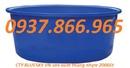 Hưng Yên: thùng nhựa hình chữ nhật 700l, thùng nhựa tròn 250lit, thùng chứa 3000l CL1665823