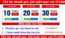Tp. Hà Nội: cho vay tiền nhanh trong vòng 30 phút CL1701272