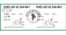 Tp. Hồ Chí Minh: chuyên in order, vé xe, biểu mẫu giá rẻ CUS19526