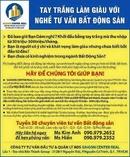 Tp. Hồ Chí Minh: Cần tuyển Chuyên Viên Tư Vấn Bất Động Sản làm việc tại khu vực trung tâm Q1, Q3 CL1665991