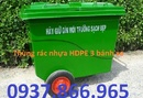 Thanh Hóa: Thùng rác Bluesky VN giá tốt nhất đa dạng chủng loại, xe gom rác 500lit CL1665836