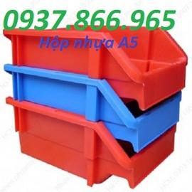 sóng nhựa bánh xe, thùng nhưa b5, rổ nhựa công nghiệp hs015