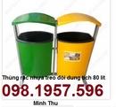 Tp. Hà Nội: thùng rác công cộng, thùng rác TR 80 lít, thùng rác giá rẻ, CL1666680