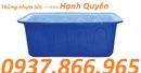 Tp. Hà Nội: thùng nhựa tròn 4000lit, thùng nhựa dung tích lớn 3000lit, thùng nhựa chữ nhật CL1667540