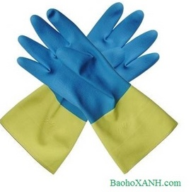 Găng tay cao su chống acid Malaysia
