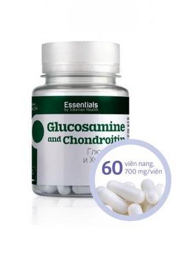 Thực phẩm сhức năng Essentials by Siberian Health. Glucosamine and Chondroiti