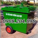 Tp. Hồ Chí Minh: Thùng rác composite 660 lít 3 bánh đặc CL1667083
