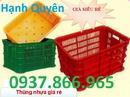 Hà Nam: thùng nhựa đặc có nắp, khay nhựa đựng ốc vít, sóng nhựa đựng trái cây, rổ nhựa CL1667540