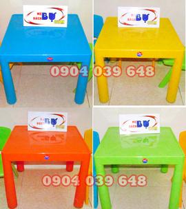 Bàn Nhựa Song Long Trẻ Em 150K. bộ bàn ghế nhựa dạy học giá rẻ