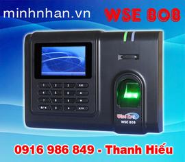 lắp đặt máy chấm công bằng vân tay Wise eye 808 rẻ nhất tại Minh Nhãn