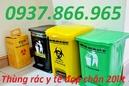 Tp. Hà Nội: XÔ ĐỰNG RÁC, thùng rác nguy hại 240lit, túi rác màu vàng 6lit, hộp sắc nhọn 1,5lit CL1673751