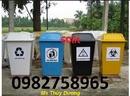Tp. Hà Nội: Thùng rác y tế đạp chân, thùng rác bập bênh, thùng rác công cộng, 15 li CL1669981