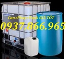Bắc Giang: thùng chứa hóa chất 10000lit, téc nhựa 1 khối, tank nhựa cũ 1000lit CL1669007
