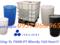 [4] thùng chứa hóa chất 10000lit, téc nhựa 1 khối, tank nhựa cũ 1000lit
