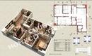 Tp. Hà Nội: Diện tích 97,64m chung cư Home City giá 33tr , căn 06, tòa V4 CL1674150P8