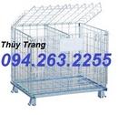Tp. Hà Nội: 1. Lồng lưới thép, sọt lưới thép Chất liệu: Thép xi mạ Tải trọng: 800, 1000, 120 CL1669981