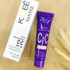 CC Cream Koee Santee kem trang điểm tự nhiên, da sáng mịn màng