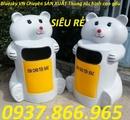 Tp. Hà Nội: thùng rác ,thùng rác trường học, thùng rác cá heo, thùng rác gấu trúc CL1702831