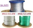 Tp. Hà Nội: Bán cáp bọc nhựa siêu bền Hà Nội 0913. 521. 058 khoá xe cáp bọc nhựa CL1671235