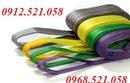 Tp. Hà Nội: Bán Cáp vải cẩu hàng siêu bền 0912. 521. 058 cáp vải Hàn Quốc, TrungQuốc CL1671262