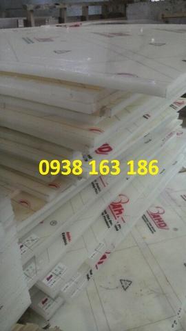 Tấm nhựa pp, pe trắng dày 10mm - 100mm   thớt nhựa