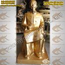 Tp. Hà Nội: Tượng chân dung, tượng Bác ngồi đọc báo bằng đồng cao cấp CL1356181