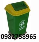 Yên Bái: thùng rác công cộng, thùng rác nhựa ,thùng rác có bánh xe, thùng rác t CL1674466