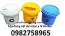 Bắc Giang: túi rác y tế, thùng đựng vật sắc nhọn, hộp đựng kim tiêm, túi rác tự CL1674466