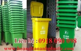 Bán thùng rác composite 120 lít, 240 lít, thùng rác công nghiệp giá rẻ