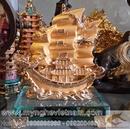 Tp. Hà Nội: Thuyền buồm xuôi gió, thuyền buồm mạ vàng, linh vật phong thủy CL1356181